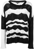 Ann Demeulemeester open knit jumper - men - Cotton/Cashmere - S