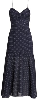 Alexis Nizarra Polka Dot Flounce Dress