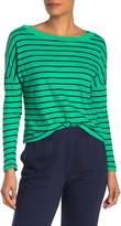 Stateside Stripe Print Long Sleeve T-Shirt