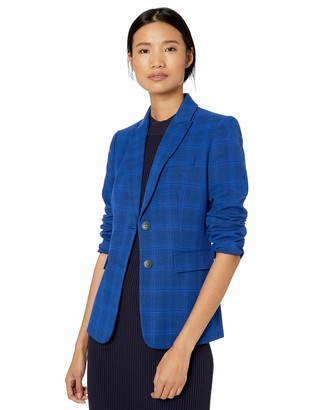 Tahari ASL Women's ROLL Sleeve Jacket