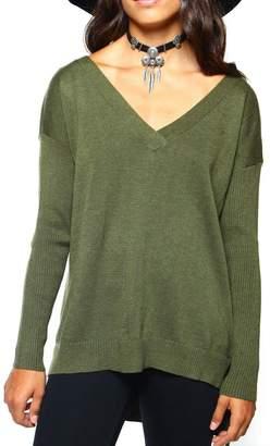 MinkPink Fingers Crossed Sweater