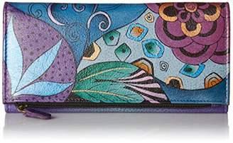 Anuschka Anna by Clutch Wallet | Genuine Leather |