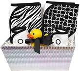 Raindrops Wild About Prints Hooded Towel Set, Zebra by Raindrops