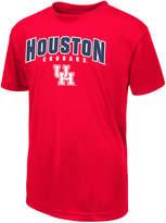 Colosseum Houston Cougars Mesh Poly T-Shirt, Big Boys (8-20)