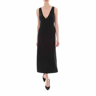 DSQUARED2 V-Neck Flared Midi Dress