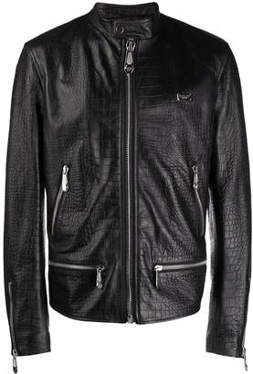 Philipp Plein Moto Jacket