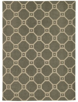 "Waverly Color Motion Stone Area Rug Rug Size: Rectangle 2'3"" x 3'9"""