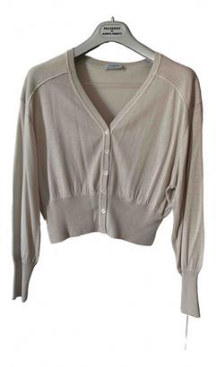 Philosophy di Alberta Ferretti Beige Silk Jacket for Women