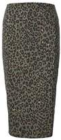 Banana Republic Animal Print Knit Pencil Skirt