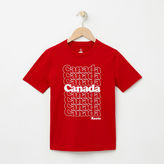 Roots Boys Glow In The Dark Canada T-shirt