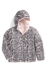 The North Face Toddler Girl's Mossbud Swirl Reversible Water Repellent Jacket