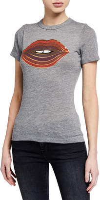 Chaser Glam Lips Graphic Tee