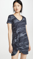 Z Supply Side Knot Camo Dress