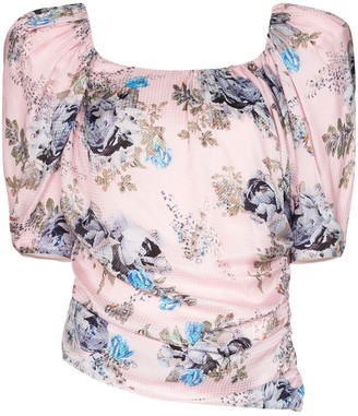 Preen by Thornton Bregazzi Guendelina pouf-sleeve top