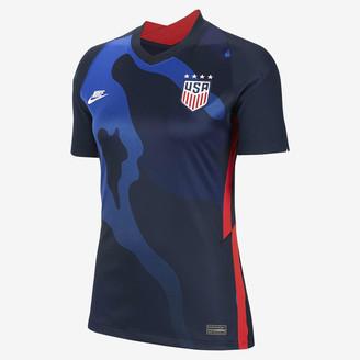 Nike Women's Soccer Jersey U.S. 2020 Stadium Away (4-Star)