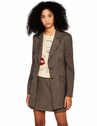 Find. Amazon Brand Women's Check Suit Jacket Jacket