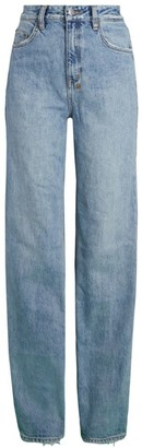 Ksubi Playback Karma High-Rise Straight Jeans