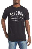 Rip Curl Men's Blender Classic Graphic T-Shirt