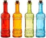 Jay Import Colored Bottles - Set of 4
