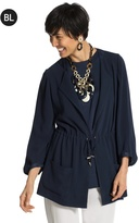 Chico's Matte and Shine Jacket