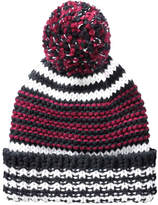 Joe Fresh Women's Stripe Knit Winter Hat