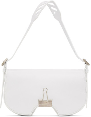 Off-White White Swiss Flap Bag