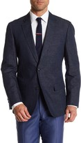 Kroon Taylor Navy Two Button Notch Lapel Jacket