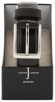 J By Jasper Conran Black Leather Belt In A Gift Box