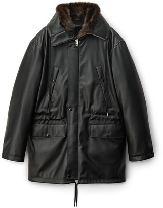 Collection Oversized Military Parka