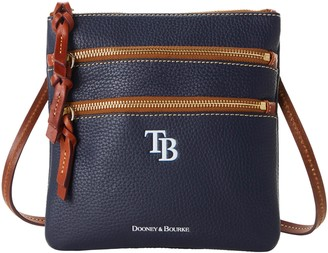 Dooney & Bourke MLB Rays N S Triple Zip Crossbody