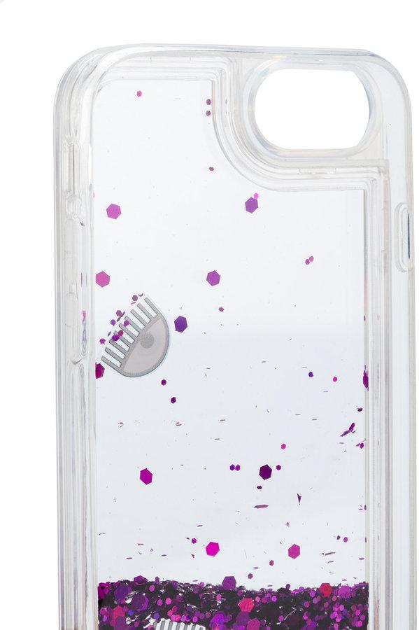 Chiara Ferragni Eyes glitter iPhone & case