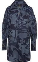 Vivienne Westwood Lottie Printed Cotton-Jacquard Shirt Dress