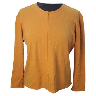 Givenchy Yellow Wool Tops