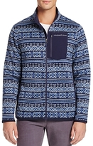 Vineyard Vines Fair Isle Better Sweater Fleece Zip Jacket