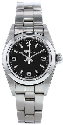 Rolex 2002 pre-owned Oyster Perpetual 25mm