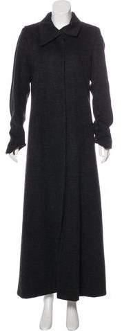 Veronique Branquinho Wool & Alpaca Long Coat