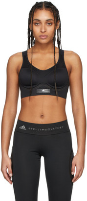 adidas by Stella McCartney Black Stronger For It Sports Bra