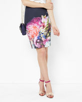 KARYCE Focus Bouquet pencil skirt
