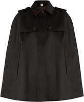Burberry Wolseley point-collar cashmere cape