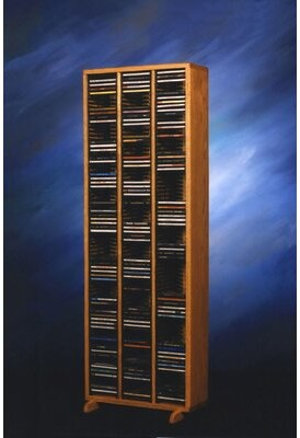 Christian Dior Rebrilliant 240 Multimedia Storage Rack Rebrilliant Color: Natural