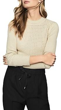 Reiss Jenna Compact-Stitch Sweater