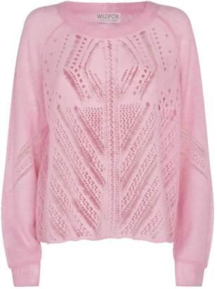 Wildfox Couture Jackie Alpaca Sweater