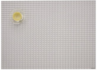Chilewich Trellis Rectangular Placemat Silver
