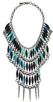 Fallon Beaded Bib Necklace
