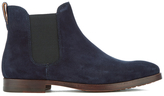 Polo Ralph Lauren Dillian Suede Chelsea Boots Navy