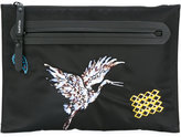 Lanvin crane patch detail clutch