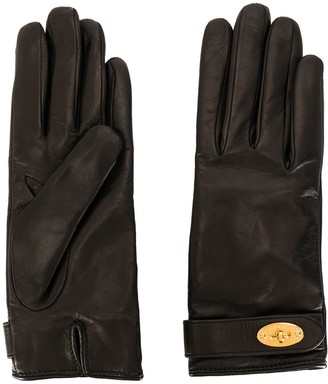 Mulberry Darley plain gloves