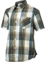 Volcom Ex Factor Button-Down Plaid Shirt - Short-Sleeve - Boys' , M