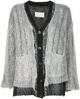 Maison Margiela embroidered knitted cardigan