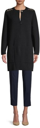 Burberry Colbybrook Wool Cashmere Dress